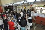 Missa em ação de graças realizada no hall da Secad