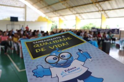 Ciclo de palestras aconteceu no ginásio Municipal Magno Nunes
