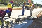 Além das inaugurações, o governador vistoria as obras de pavimentação asfáltica urbana do setor Santa Rosa, em Colinas