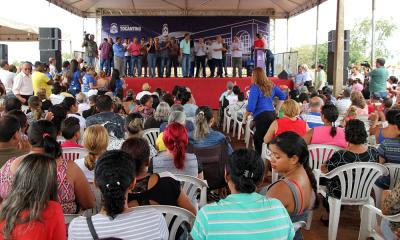 Foram entregues 654 títulos definitivos dos imóveis de beneficiários moradores da quadra 1.303 Sul, em Palmas