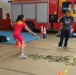 Competição contou com salto lateral, arrasto de pneu, arrasto frontal de pneu de trator e caminhão, transposição de aro (peso de 10 kg) e tombamento de pneu