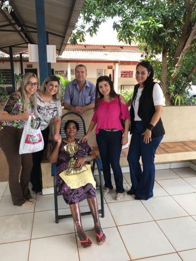 Subprocuradora-Geral Irana Coelho participa da entrega de donativos