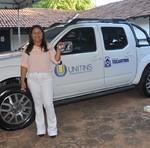 A reitora da Unitins, Suely Quixabeira, entregou veículos e mobiliários adquiridos pelo Governo do Tocantins para os Câmpus da Unitins