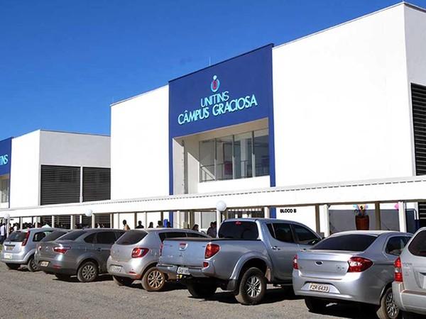 Câmpus da Graciosa, em Palmas, é o que possui o maior número de alunos matriculados, conforme a Unitins