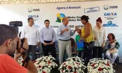 Em Colinas, o PMCMV beneficia mais de 4 mil pessoas