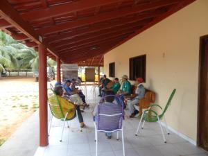 Reunião organizada com os proprietários rurais para discutir o MIF