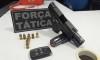 Arma de fogo apreendida pela PM em Palmas