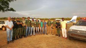 Operação da equipe do  Naturatins em Lagoa da Confusão