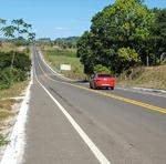 Inauguração obras de reconstrução da pavimentação asfáltica, melhorias no sistema de drenagem e na sinalização da TO-126, no Bico do Papagaio