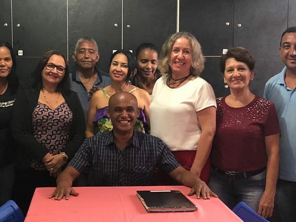 Diretor Jucelio toma posse com a tarefa de mobilizar a comunidade para as ações do aniversário de 25 anos da escola