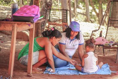 No Tocantins, 39 cidades já implantaram o Criança Feliz