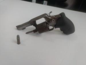 Arma apreendida em Porto Nacional