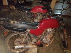 Motocletas usadas por criminosos