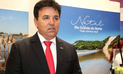 O prefeito de Maxaranguape (RN), Luiz Eduardo Bento da Silva, ressaltou que a participação em feiras é importante para divulgar e atrair investimentos