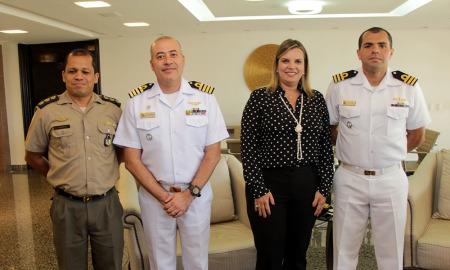 Claudia prestigiará a cerimônia de posse do novo Capitão dos Portos que ocorrerá na segunda-feira, 15, na sede da  Marinha em Palmas