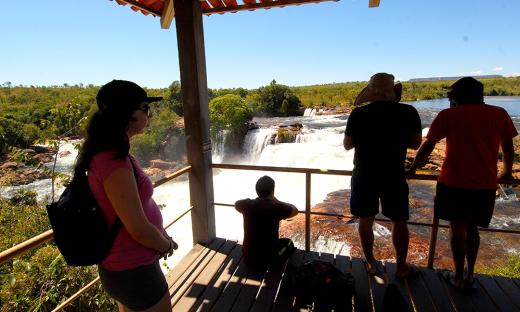A Cachoeira da Velha também é um dos destinos mais procurados pelos turistas