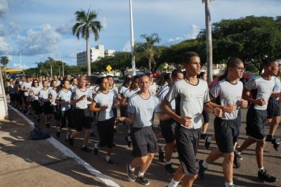 O trajeto da iniciou na Avenida JK e finalizou na Praça dos Girassóis, em Palmas