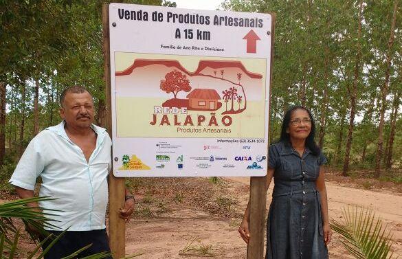Famílias agroextrativistas da Rede Jalapão recebem placas de localização (4)_Foto Rejane Nunes-APA do Jalapão.jpg