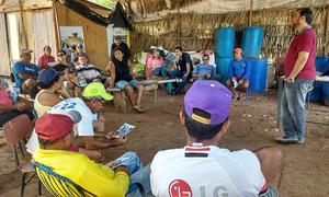 Técnicos da Adapec falaram sobre a sanidade dos animais aquáticos, para os associados do Parque Aquícola Sucupira, em Palmas
