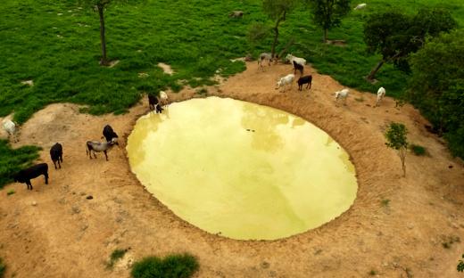 O Projeto Barraginhas é uma das metas do Governo do Estado para amenizar a seca da região sudeste