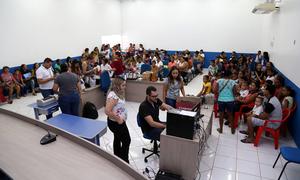 No Projeto Tocantins+Cidadania nos municípios, as atividades ocorrem em espaços cedidos pelos parceiros