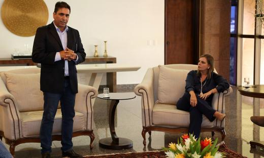 O subsecretário Fabio Lelis destacou a importância do Prêmio para o estímulo às boas práticas ambientais