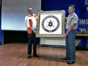 HOMENAGEM AO CORPO DE BOMBEIRO PELA INTERART