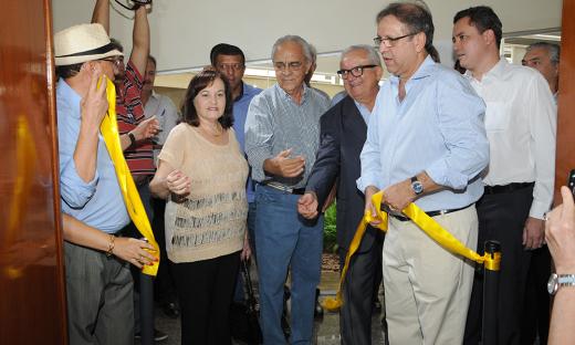 As melhorias, que foram realizadas com recursos do próprio Igeprev, foram inauguradas pelo governador Marcelo Miranda, na manhã desta quinta-feira, 25