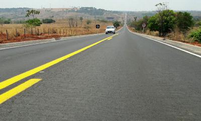 Marcelo Miranda inaugura, nesta sexta, 26, a restauração do trecho de 26,73 km da rodovia TO-126, entre Aguiarnópolis e Tocantinópolis