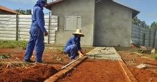 Serão retomadas as obras de 70 casas populares