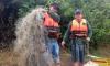 Na operação foram apreendidos cerca quatro mil metros de redes de malhas diversas