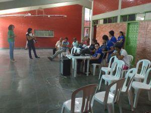 Regional de Araguaína realiza palestra com pescadores profissionais e comerciantes