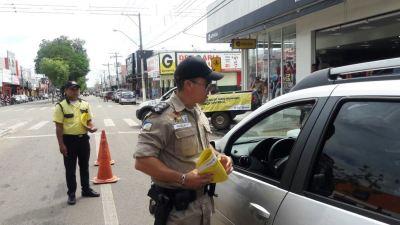 Polícia Militar, Departamento Municipal e Detran-TO são parceiros na Operação Educação Pré-Carnaval