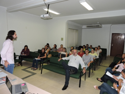Em Gurupi, os técnicos da Regional participaram da formação com os representantes da ONG