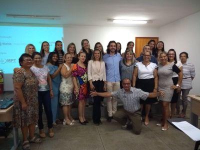 A formação foi realizada também em Porto Nacional e ainda percorrerá outras Regionais