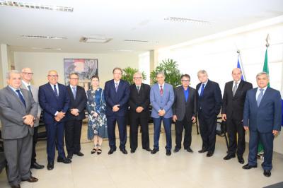 PGE Sérgio do Vale integra comitiva do governador em visita ao TCE/TO