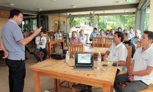 O secretário Alexandro de Castro enfatizou que a presença de representantes de diferentes pastas na missão representa o compromisso do Governo em promover o desenvolvimento do Estado por meio da piscicultura