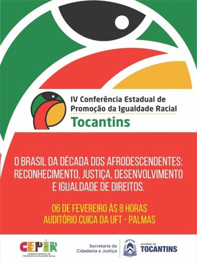 Evento será auditório Cuica, da Universidade Federal do Tocantins.