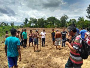 A construção da Casa da Cultura, irá contribuir para o fortalecimento organizacional daquela aldeia
