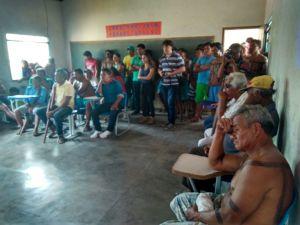 Na pauta, a execução do projeto de gestão territorial e ambiental da aldeia