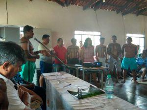Além do representante do Naturatins compareceram à cerimônia os indígenas, representantes do Ruraltins, IFTO, do executivo e legislativo municipal