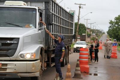 Blitz em alusão ao carnaval têm o objetivo de conscientizar os motoristas e a população sobre a sua responsabilidade na construção de um trânsito seguro