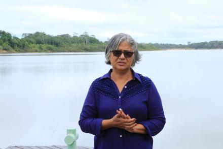 Marluzia Dalat Junqueira sonha um dia trabalhar apenas com ecoturismo.