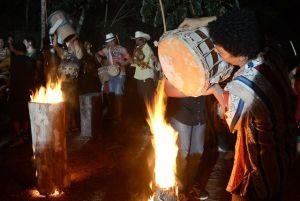Carnaval de Taquaruçu valoriza a cultura local com a Queima dos Tambores