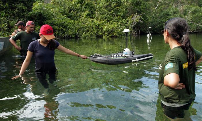 A medição da 1ª campanha do Qualiágua acontece na bacia do Rio Sono e na bacia do Rio Formoso, abrangendo sete municípios