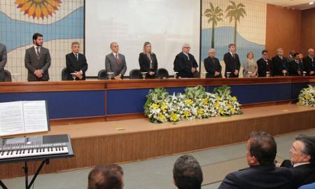 Além da posse do procurador-geral do Ministério Público de Contas, Zailon Miranda Labre Rodrigues, a sessão solene também comemorou os 29 anos de criação do Tribunal de Contas do Estado