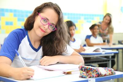 Podem participar estudantes do ensino fundamental e médio