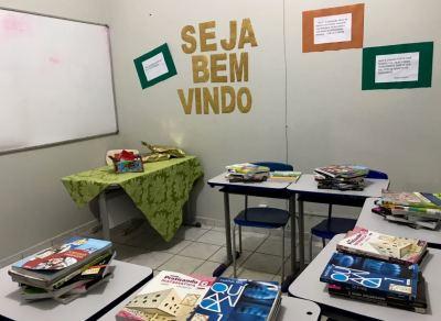 Espaço educacional será utilizado pelos detentos para concluir estudos em turmas do Ensino Fundamental e Médio