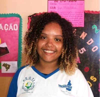 Wendy Vitória da Silva de Sousa escolheu Teatro na Escola como eletiva