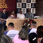Reeducandos da Cadeia Pública de Colmeia participam de aula inaugural